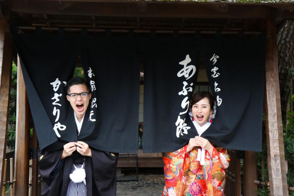 京都前撮り和装ロケーション撮影