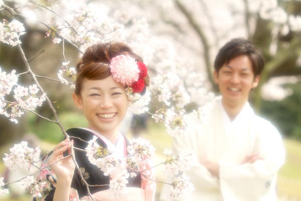 $スマイルハンター 江幡幸典のお気楽写真ブログ-桜 ロケーション撮影