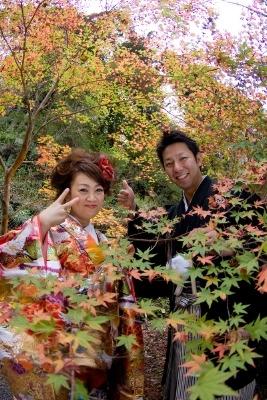 $スマイルハンター 江幡幸典のお気楽写真ブログ-前撮り 京都